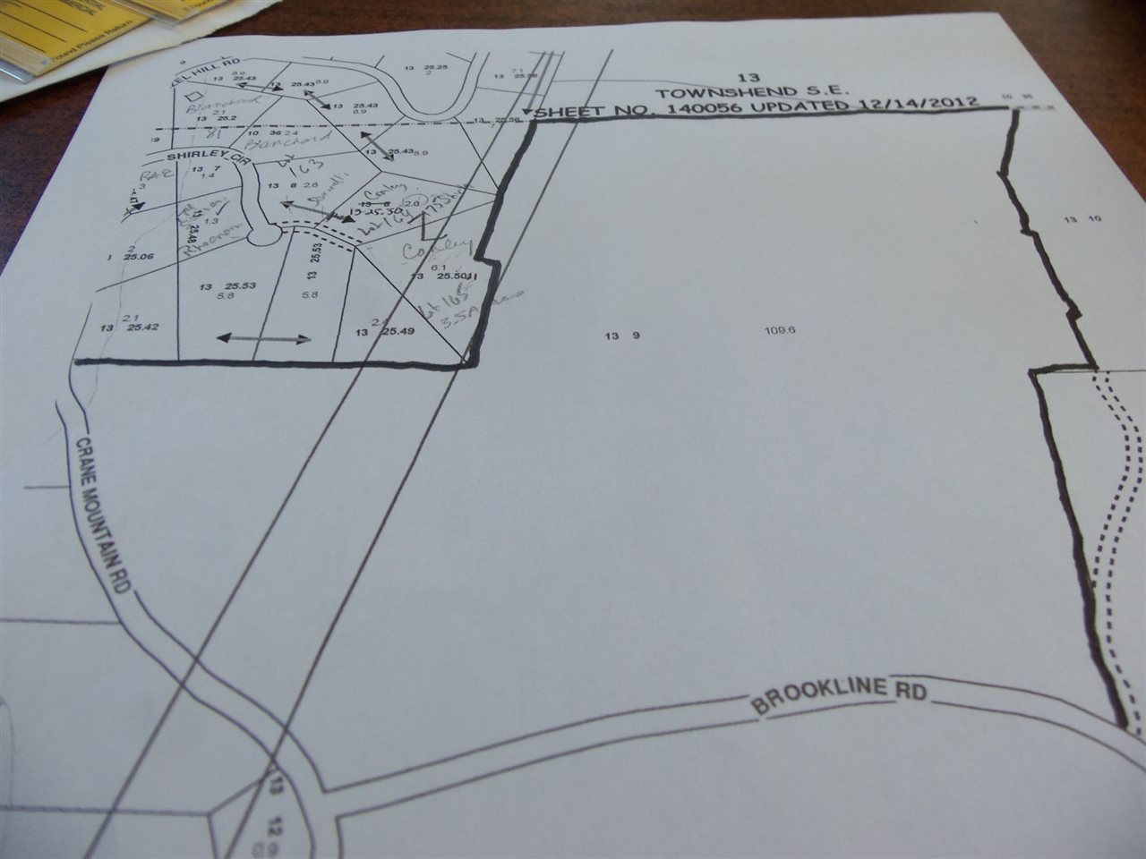 Large parcel with 3100 +/- road frontage, total...