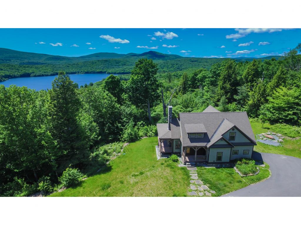 Spectacular post and beam home overlooking Lake...