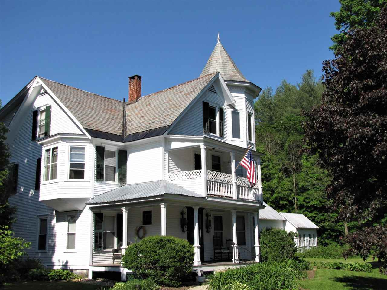 This charming Victorian is across the street from...