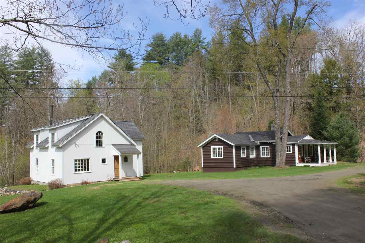 Two truly charming homes on 2.5 acres in a quiet...