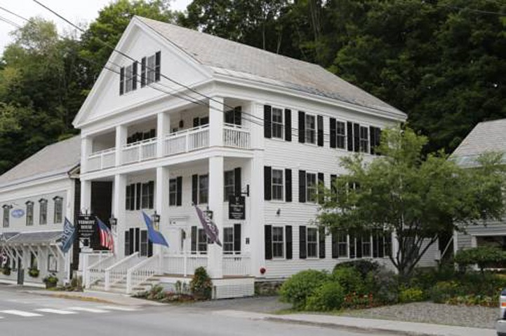 The Vermont House is a swank new boutique hotel...