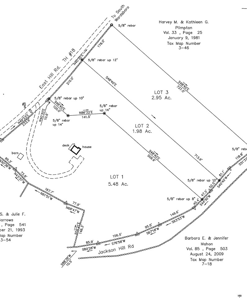 Beautiful lot located just outside of the center...