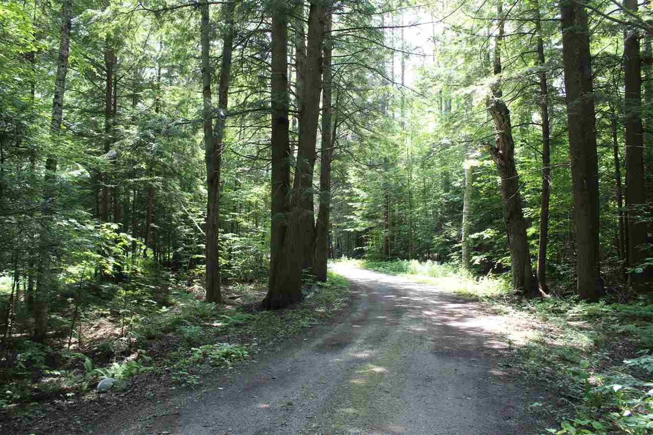 Desirable four acre, wooded parcel in a lovely...