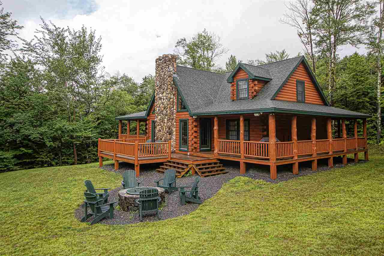 Spacious log home just a short drive to both...