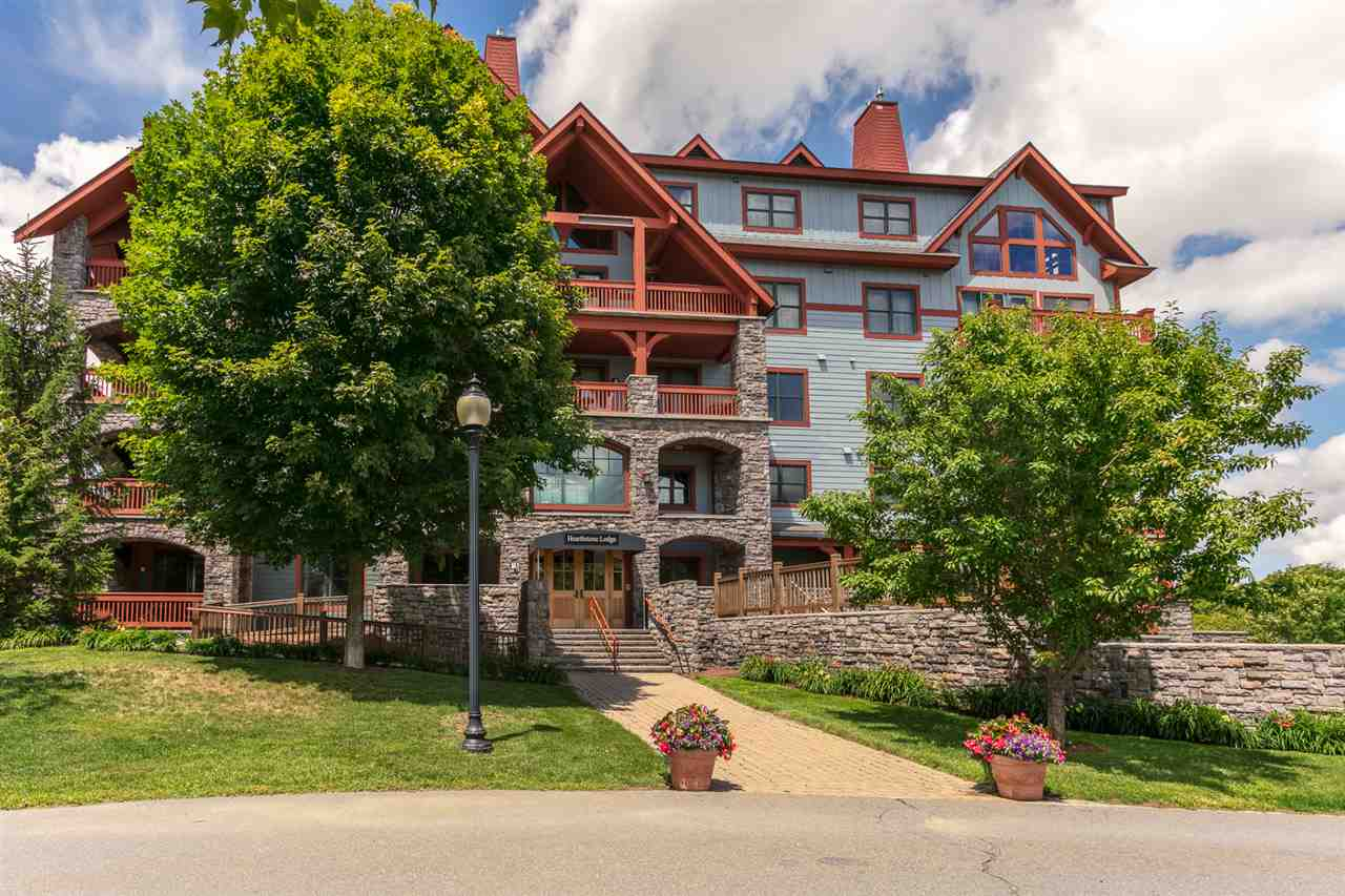 SLOPESIDE LUXURY-Hearthstone Lodge is the very...