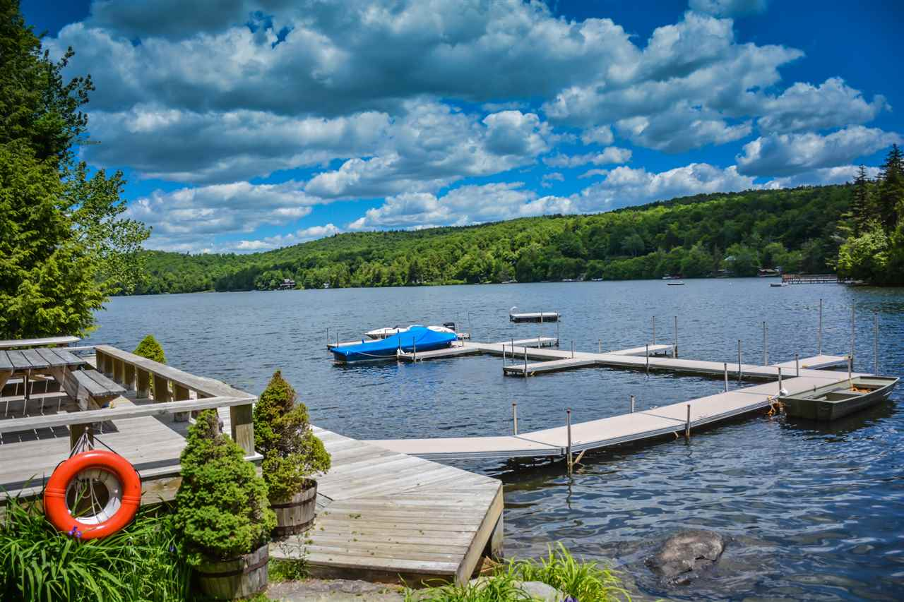 Completely renovated home on Lake Raponda with...