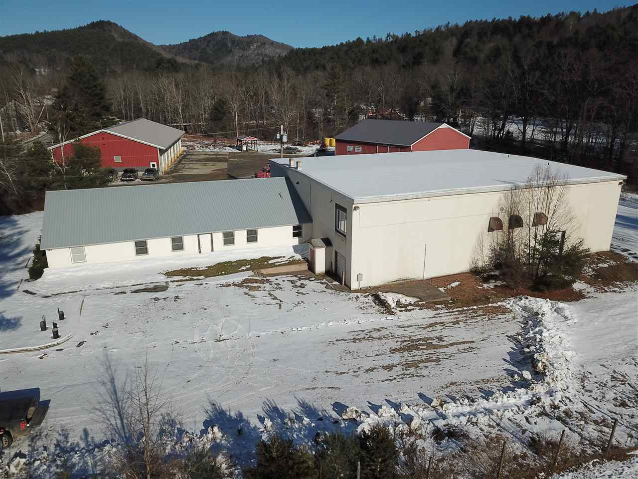 Commercial Building situated on 2.4 level acres...