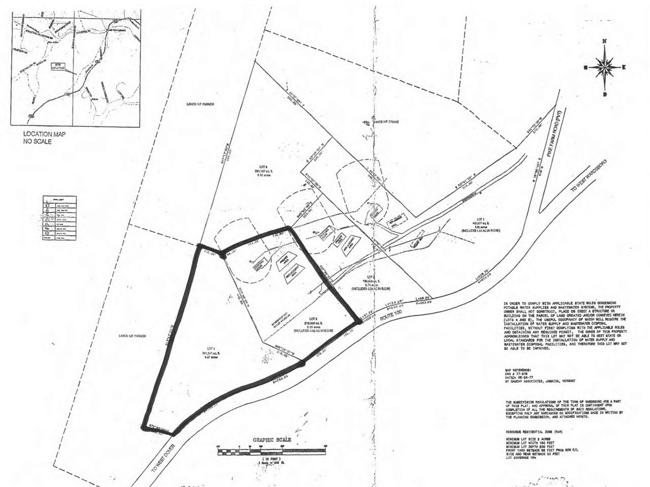 Pike Farm Road lot #3 and #4 are part of a 5 lot...