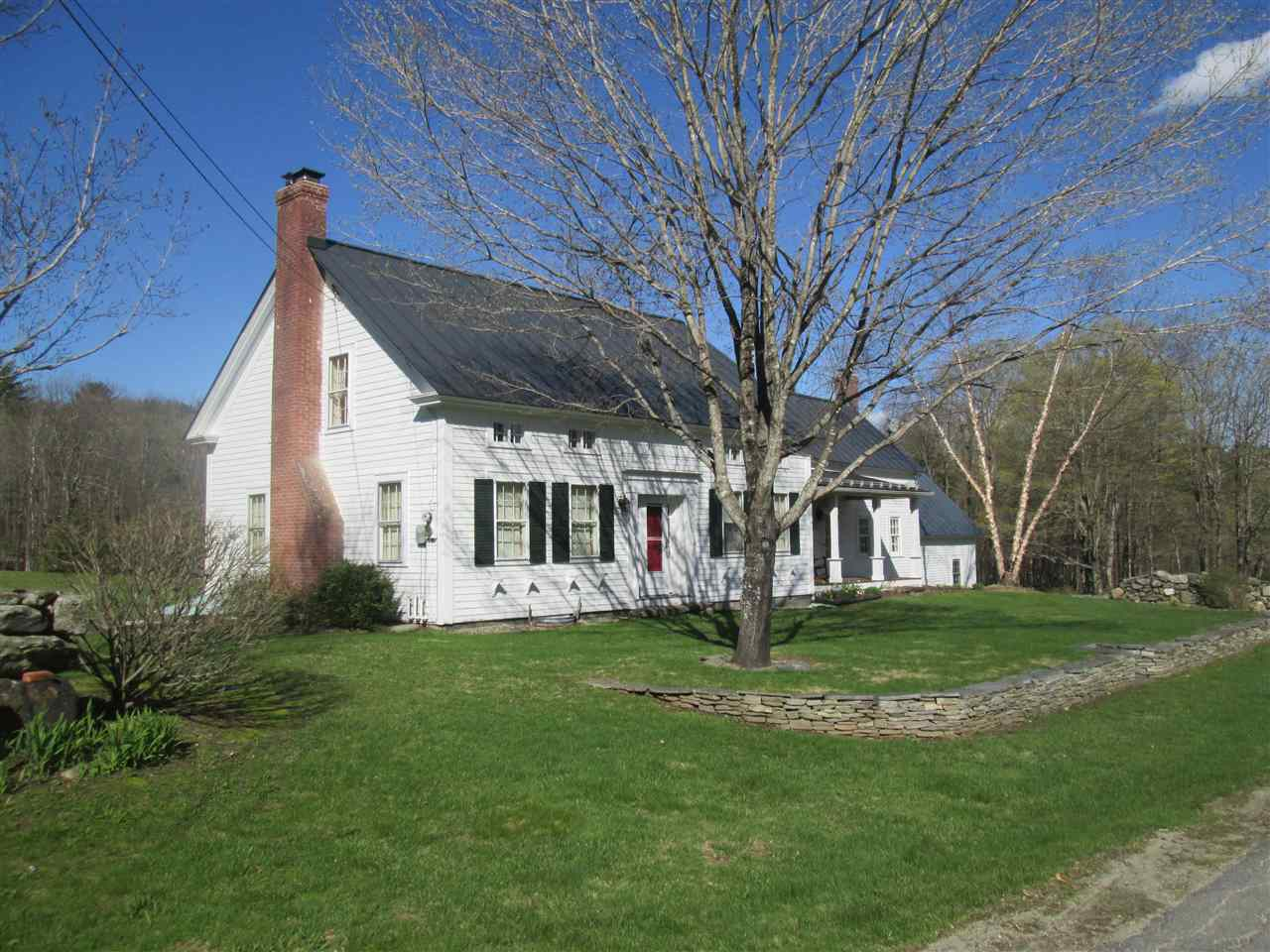 Quintessential Grafton Vermont: c. 1835 home on...