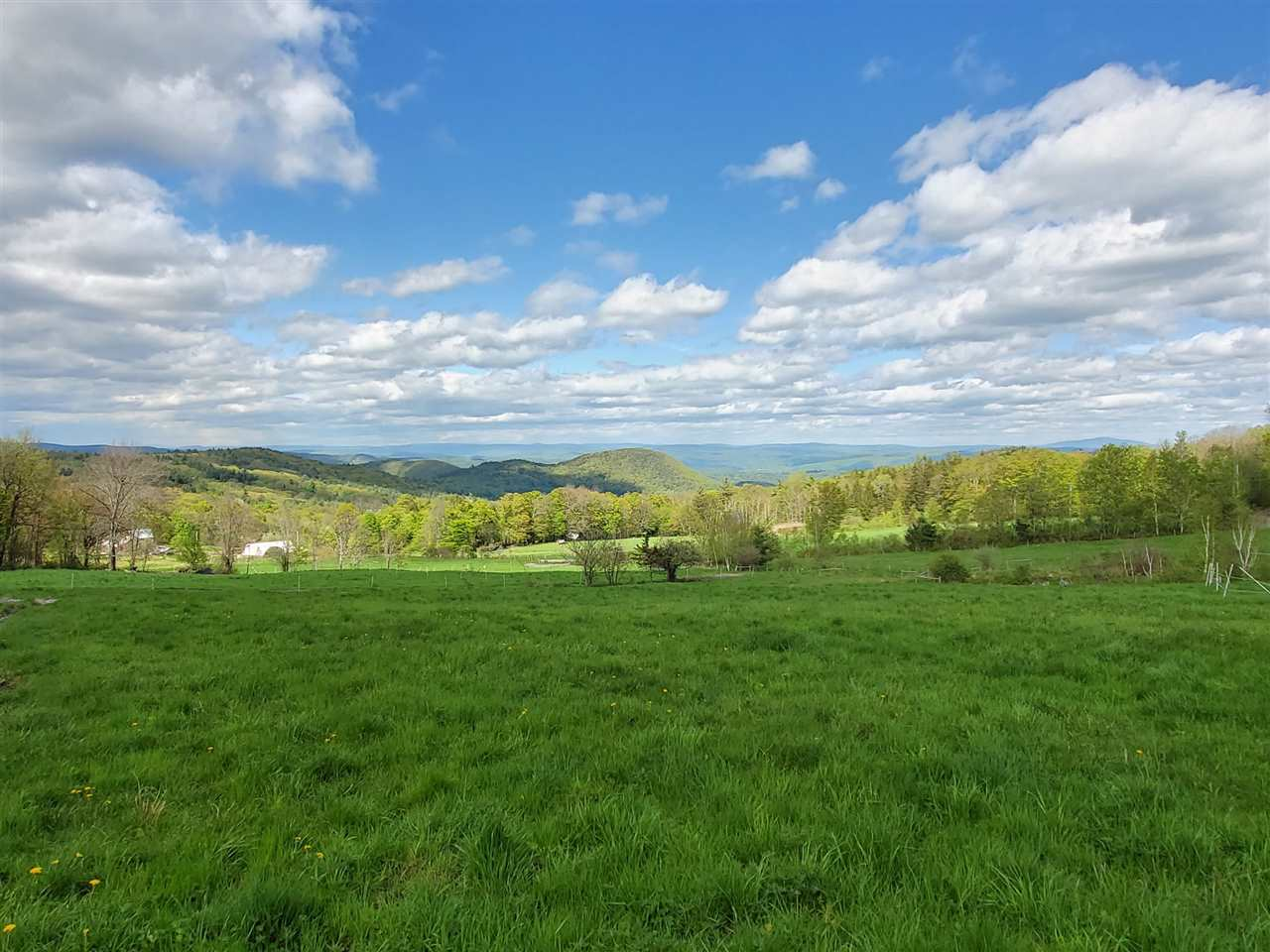 Gorgeous long-range views of Vermont and New...