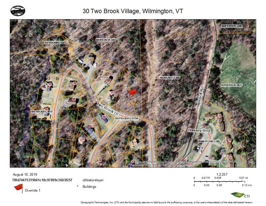 Small building lot in Two Brook Village of...