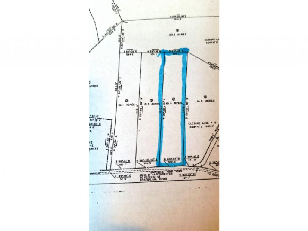 ENFIELD NH LAND  for sale $$55,500 | 10.4 Acres  | Price Per Acre $6,721