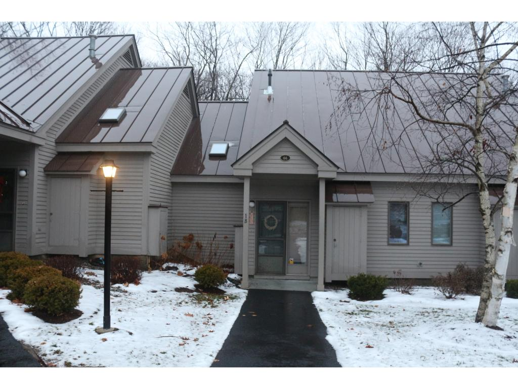 VILLAGE OF QUECHEE IN TOWN OF HARTFORD VTCondo for sale $$159,000 | $122 per sq.ft.
