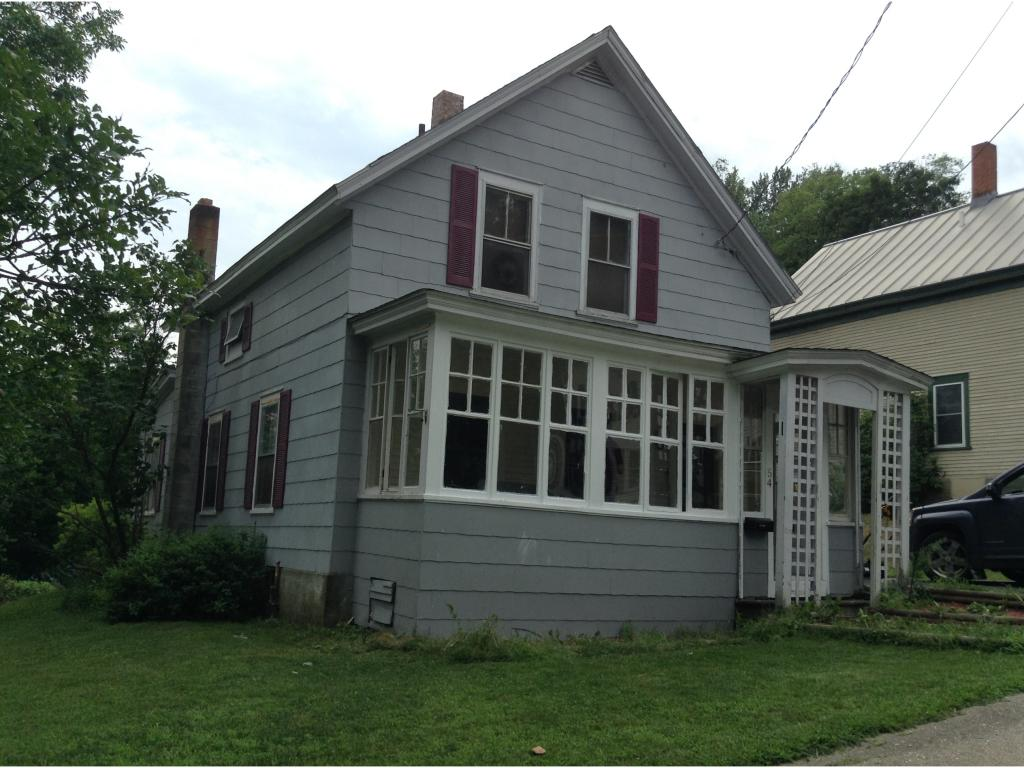 SPRINGFIELD VT Home for sale $$59,000 | $43 per sq.ft.