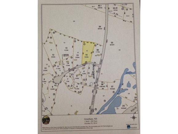 Grantham NH 03753Land for sale $List Price is $45,000