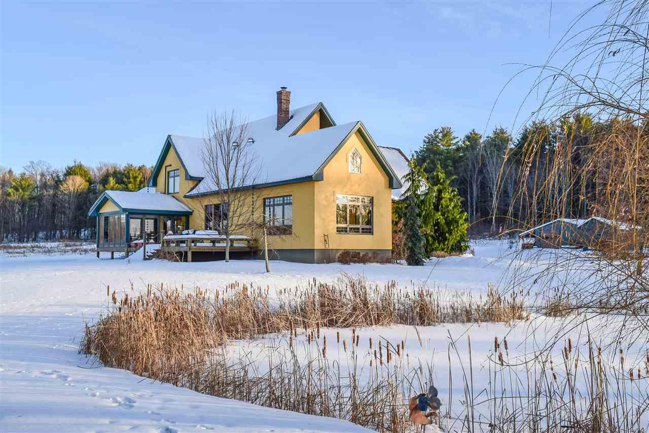 Shoreham VTHorse Farm   Property  on Pond