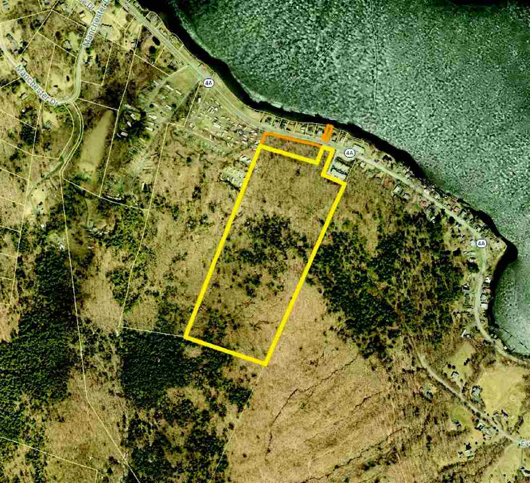 Aerial showing all 3 lots