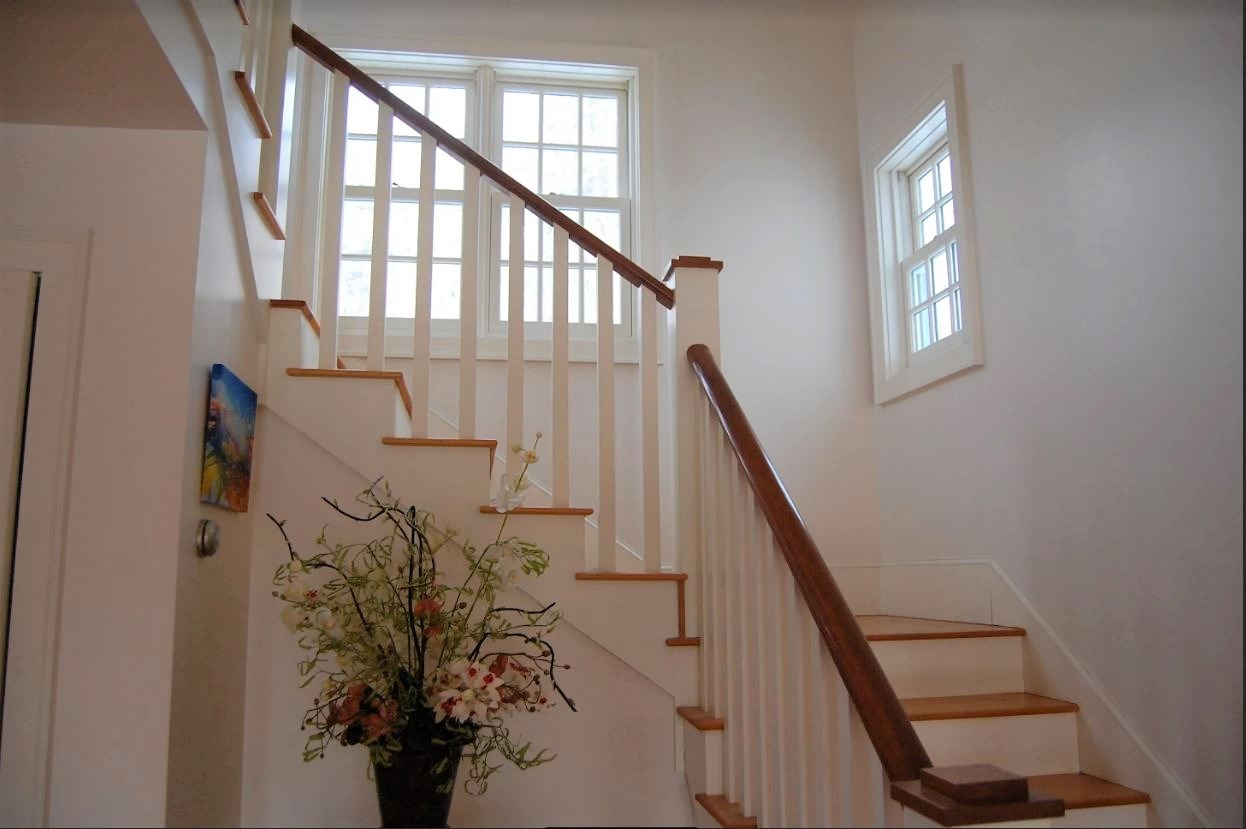 Stairway to Master Bedroom