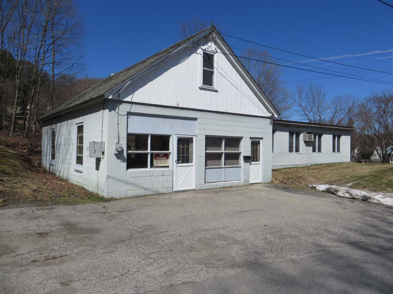 Springfield VT Commercial Property for sale $List Price is $69,000