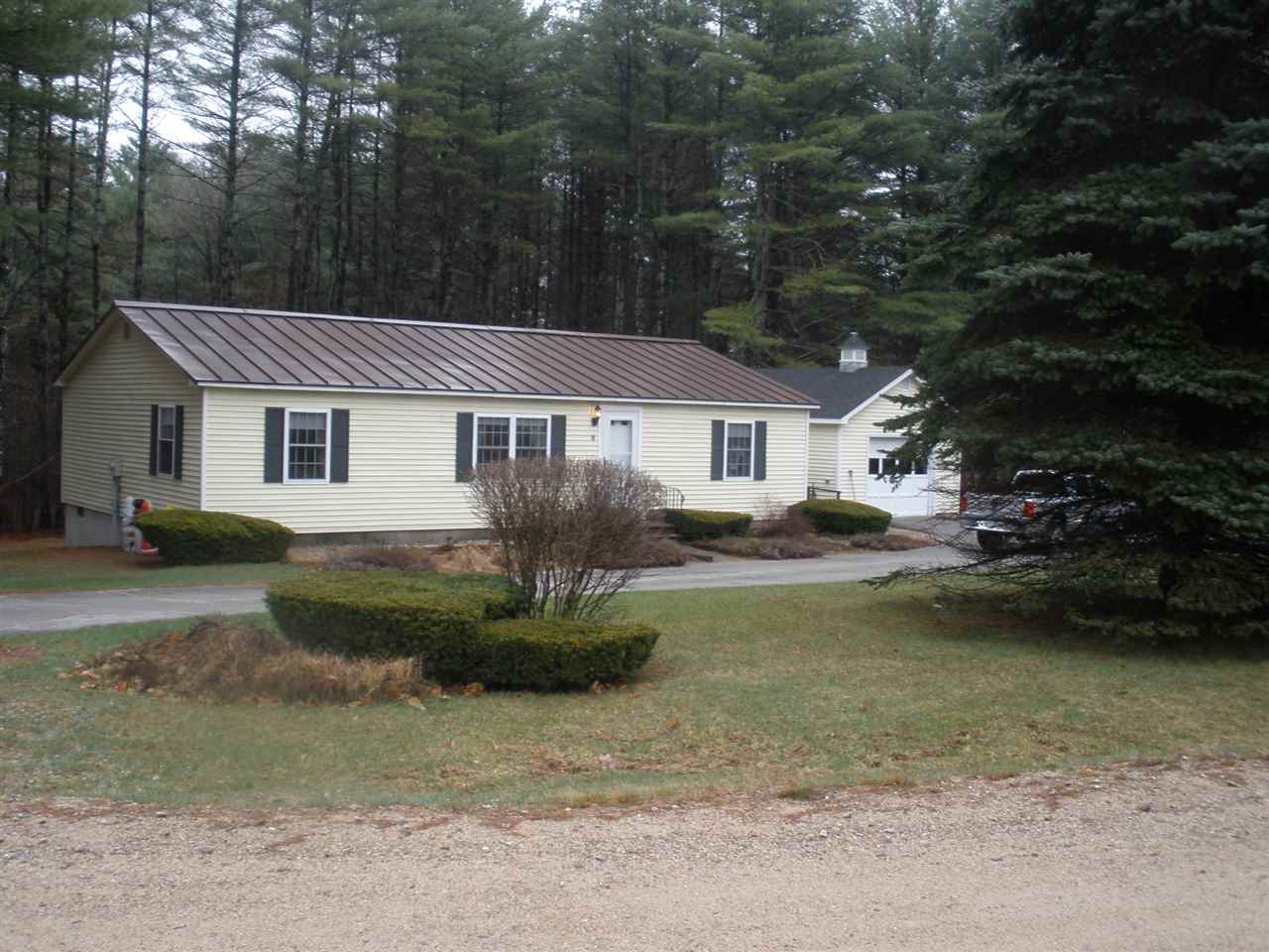 OSSIPEE NH  Home for sale $142,500