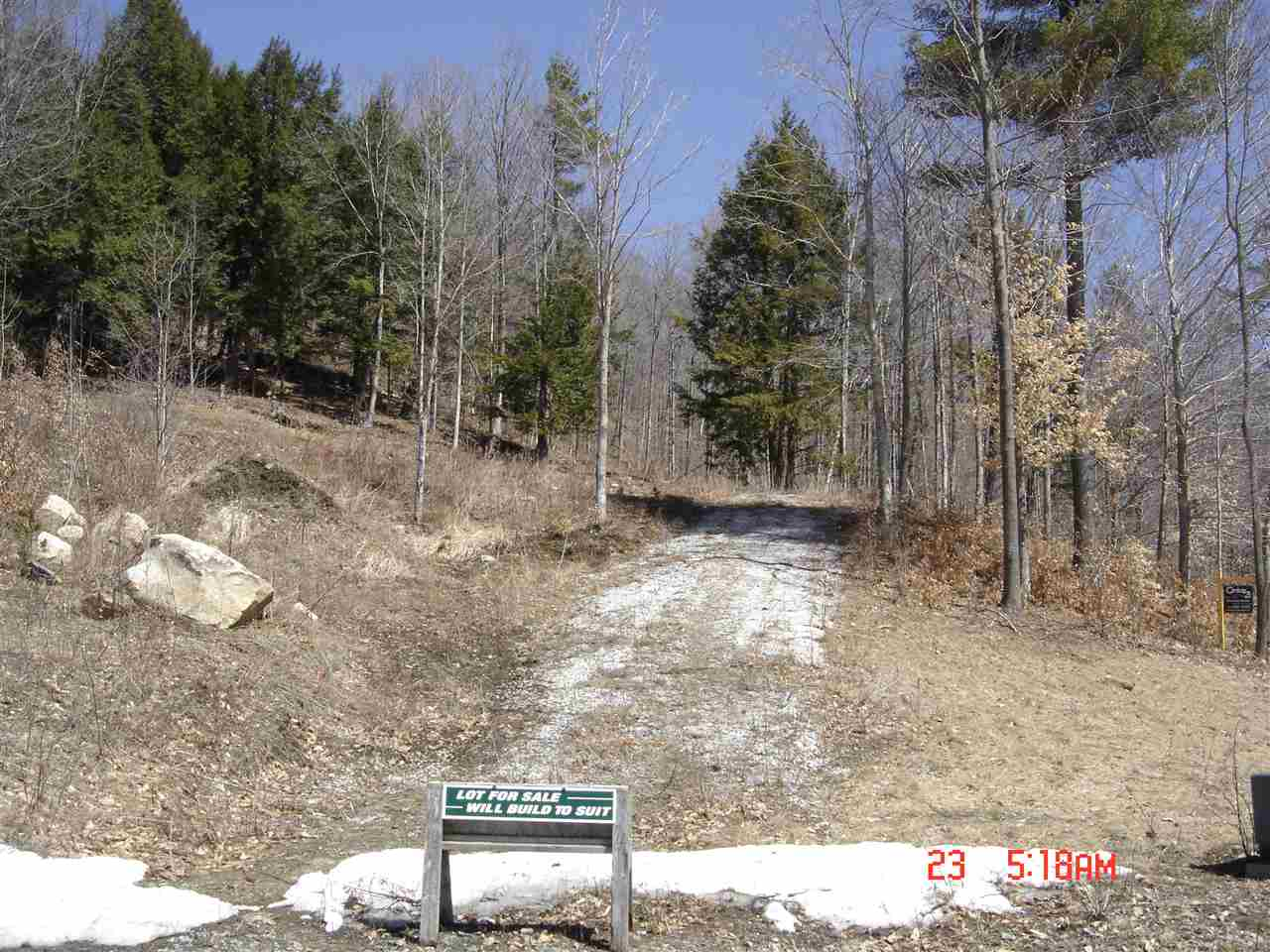 Cavendish VT Land  for sale $List Price is $54,900