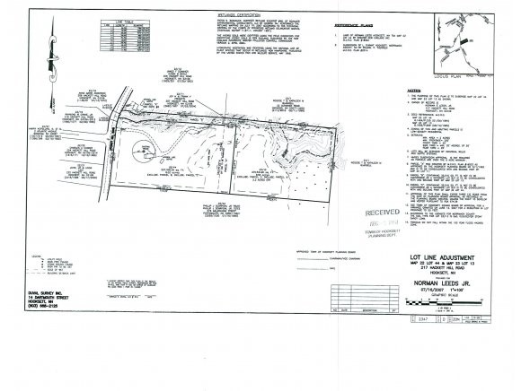 Hooksett NH Land  for sale $List Price is $99,900