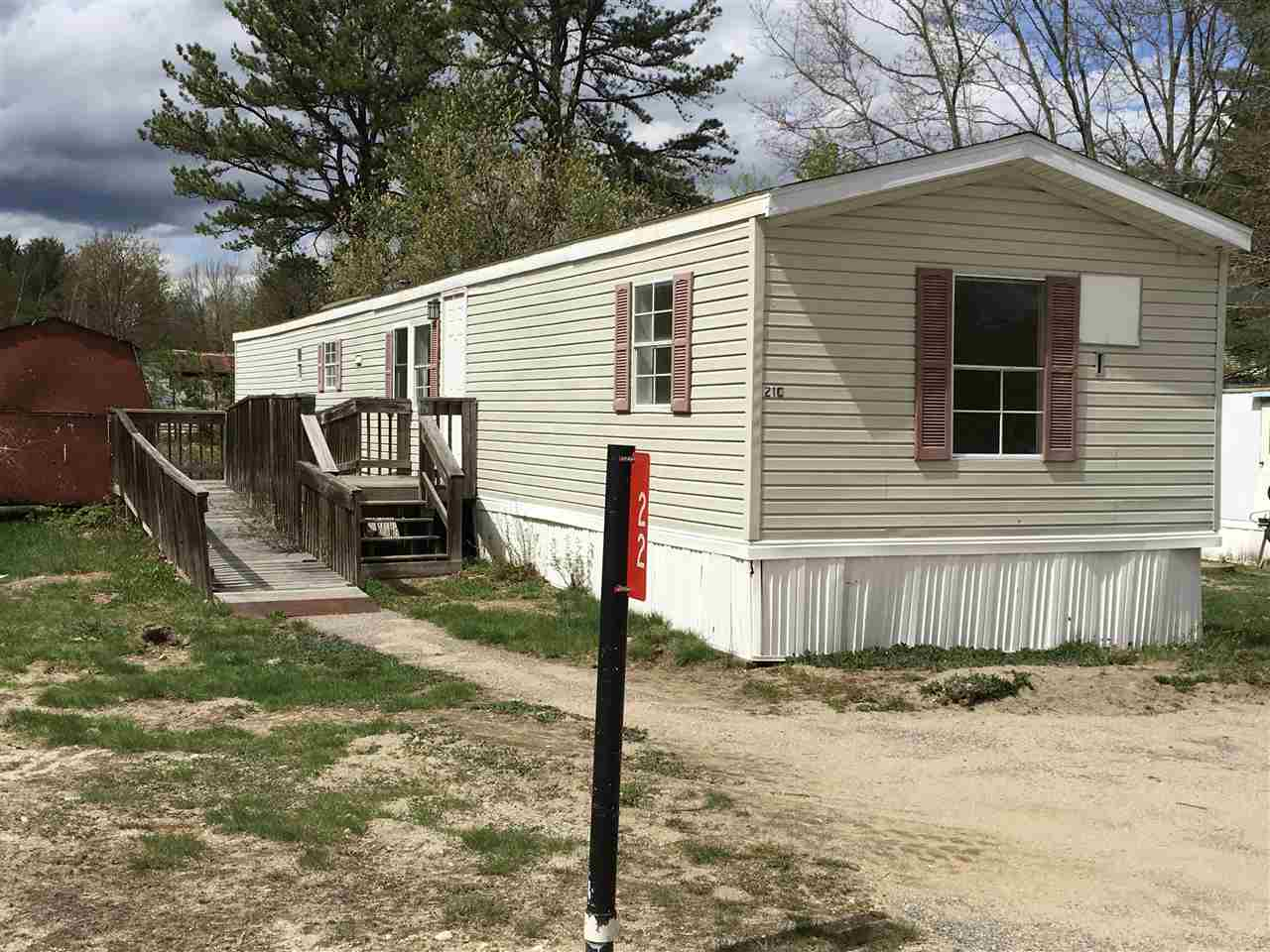 VILLAGE OF CENTER OSSIPEE IN TOWN OF OSSIPEE NH Home for sale $34,500