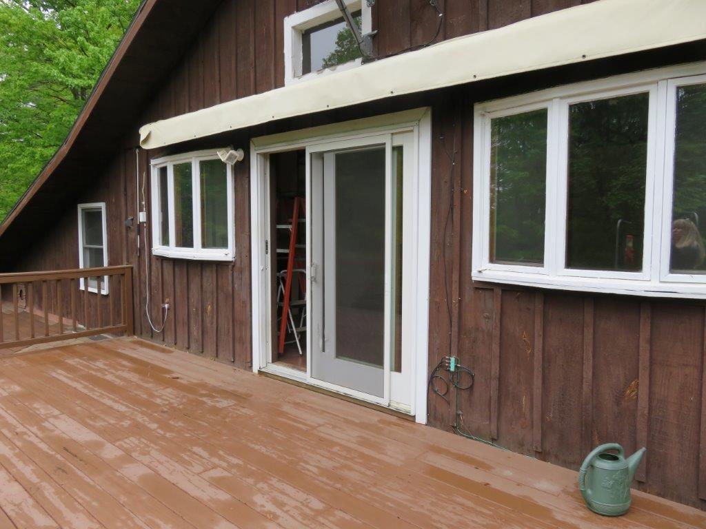 Deck w/ slider to Living Room