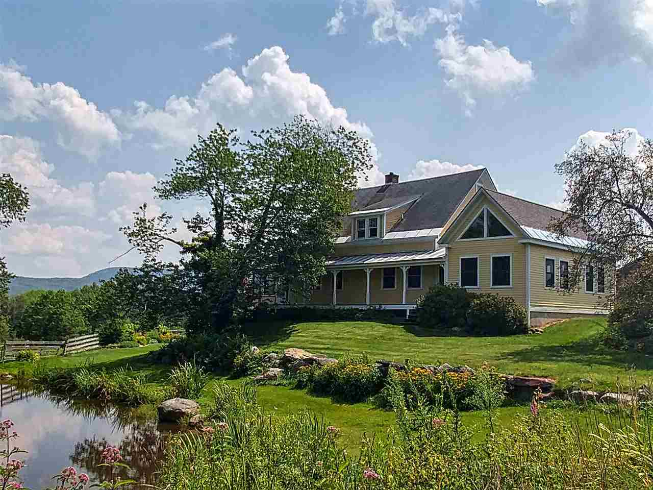 Newport NH Horse Farm | Property  on Private Pond