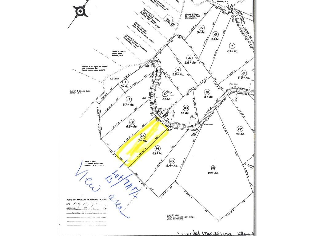 MARLOW NH LAND  for sale $$49,000 | 7 Acres  | Price Per Acre $0