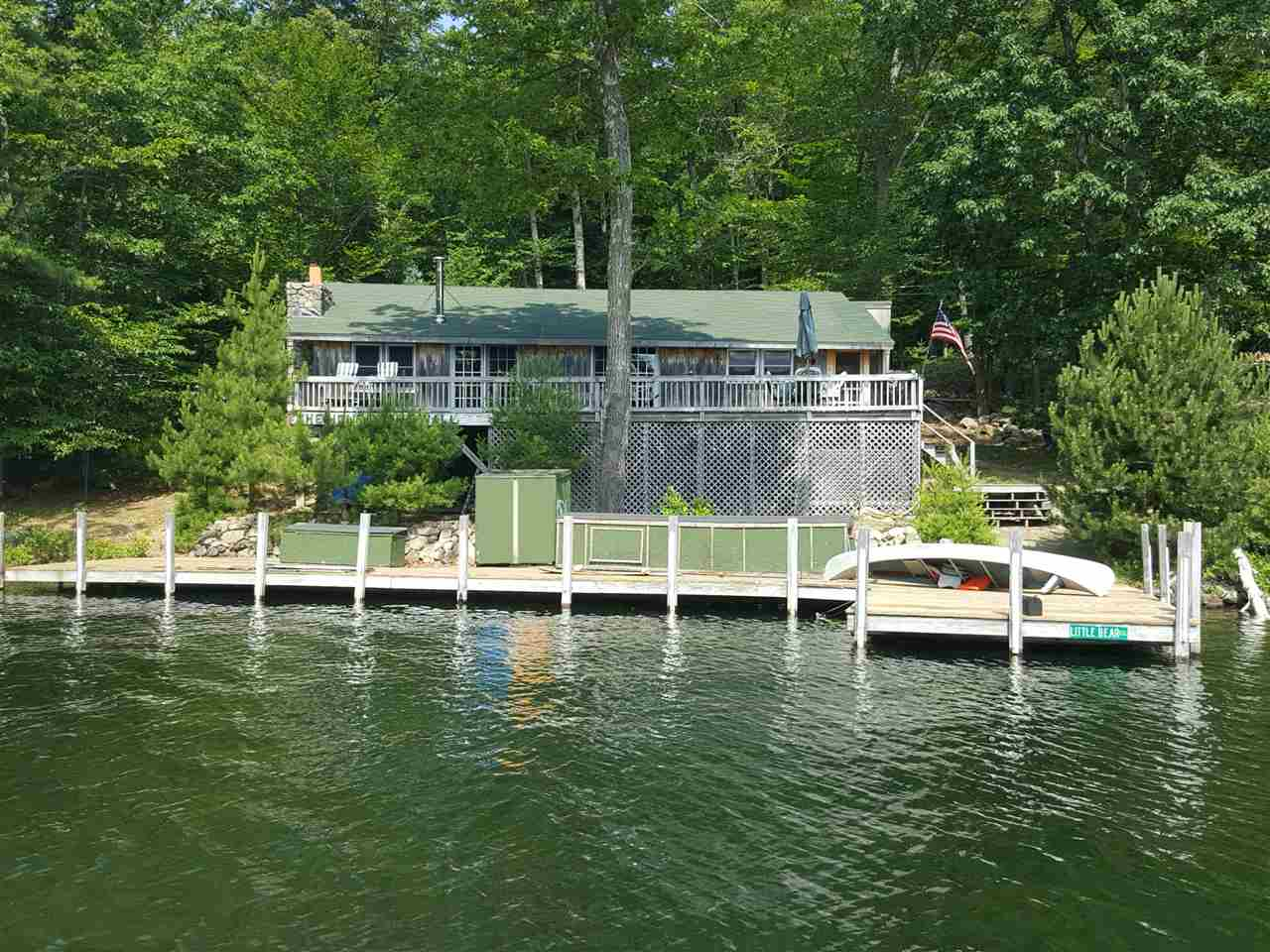 Tuftonboro NH Lake Winnipesaukee waterfront home for sale