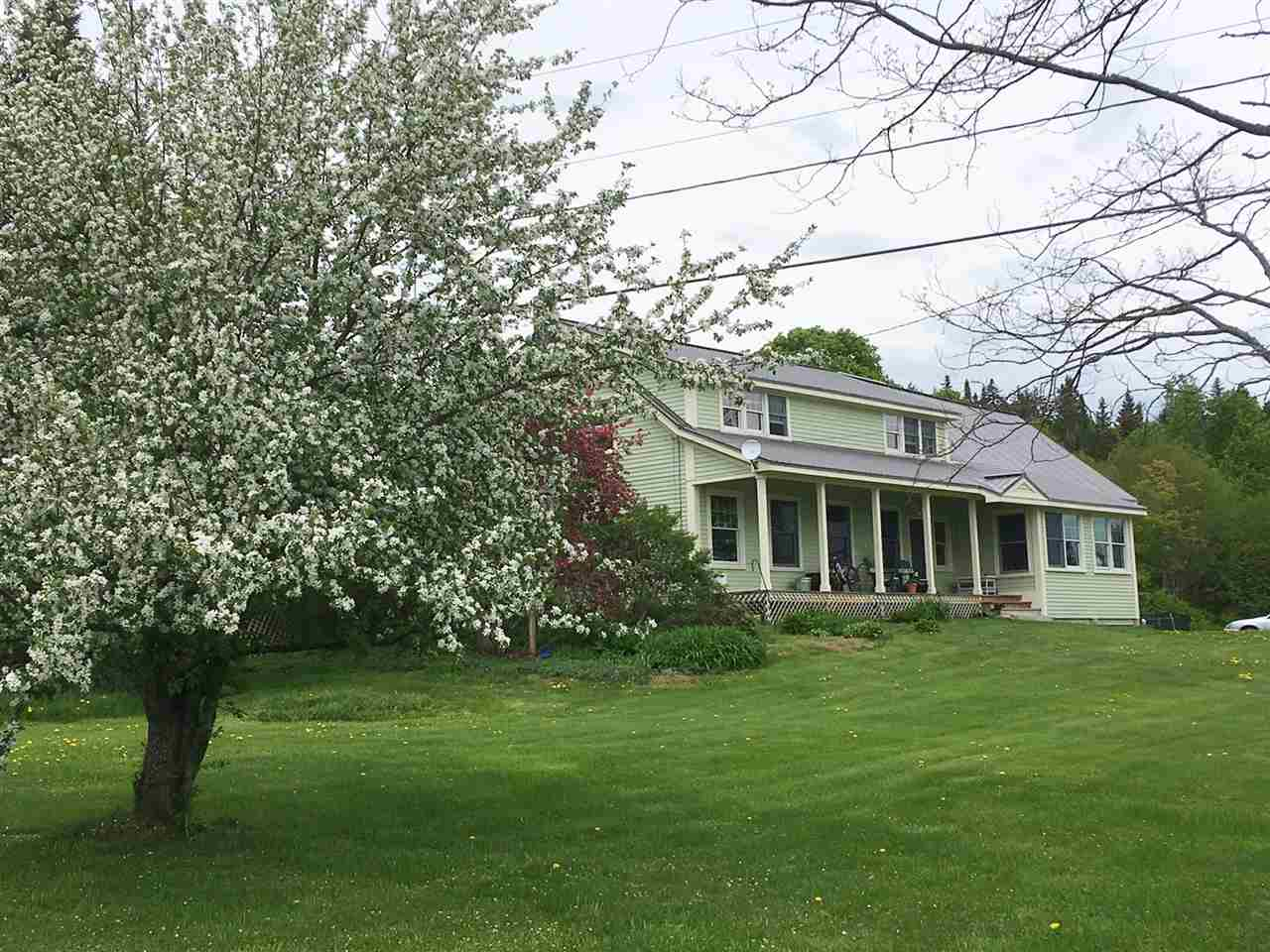 Newark VTHorse Farm | Property  on private stream
