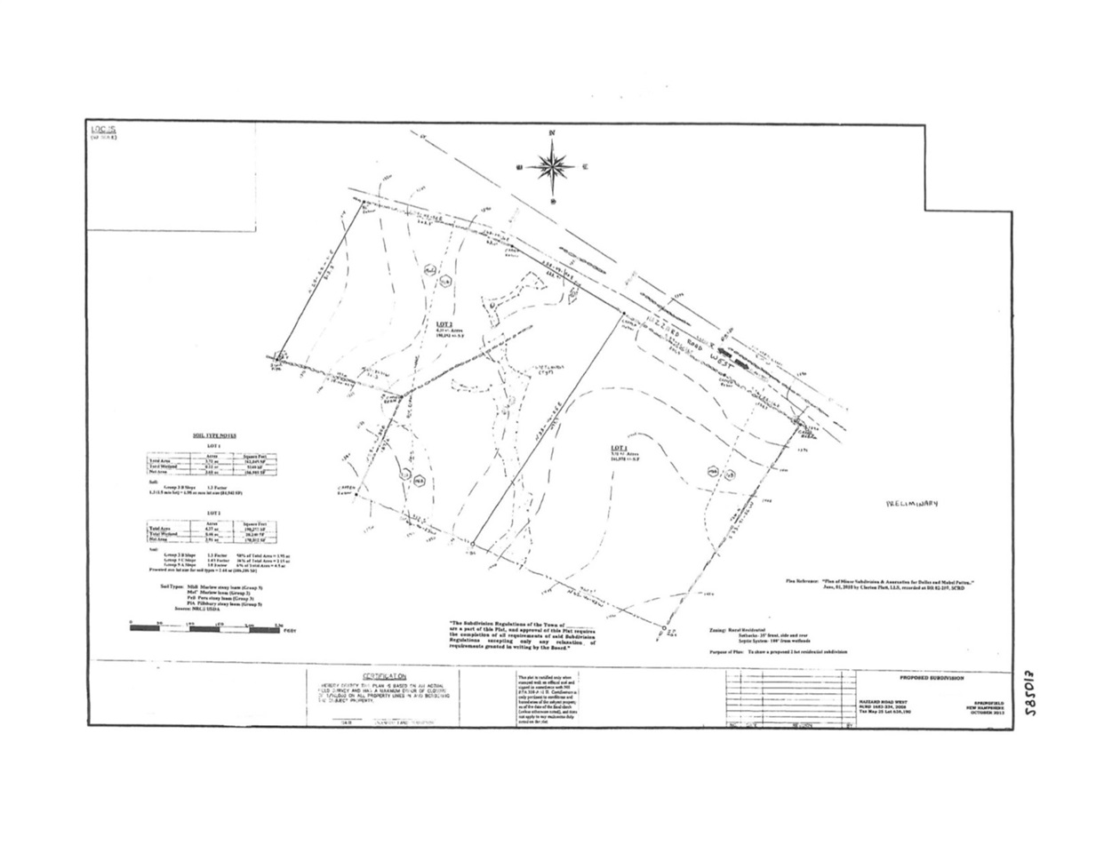 SPRINGFIELD NHLAND  for sale $$124,000 | 8.2 Acres  | Price Per Acre $0