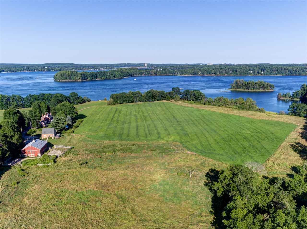 Durham NH Horse Farm | Property  on Little Bay and Willey Creek