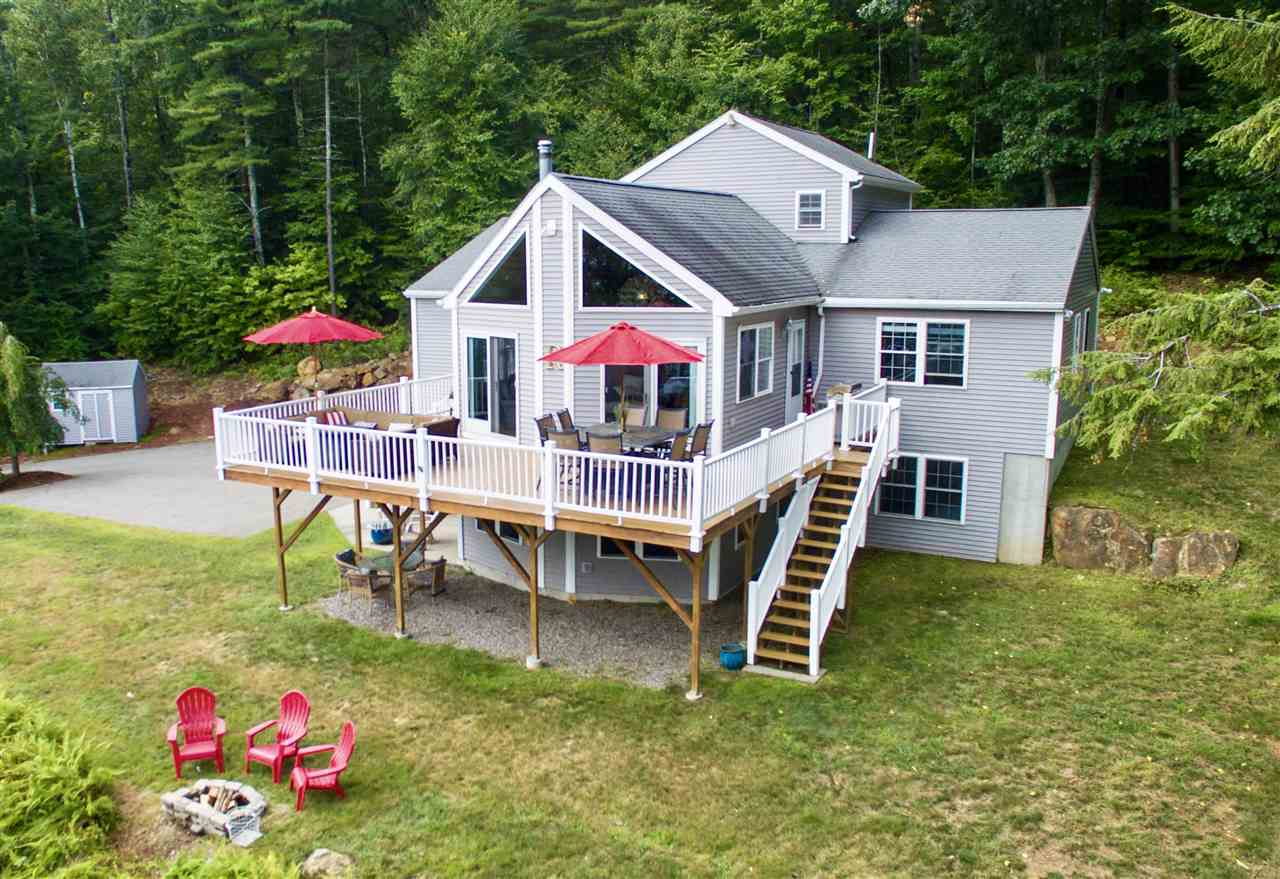 SANBORNTON NH Lake House for sale $$619,000 | $192 per sq.ft.