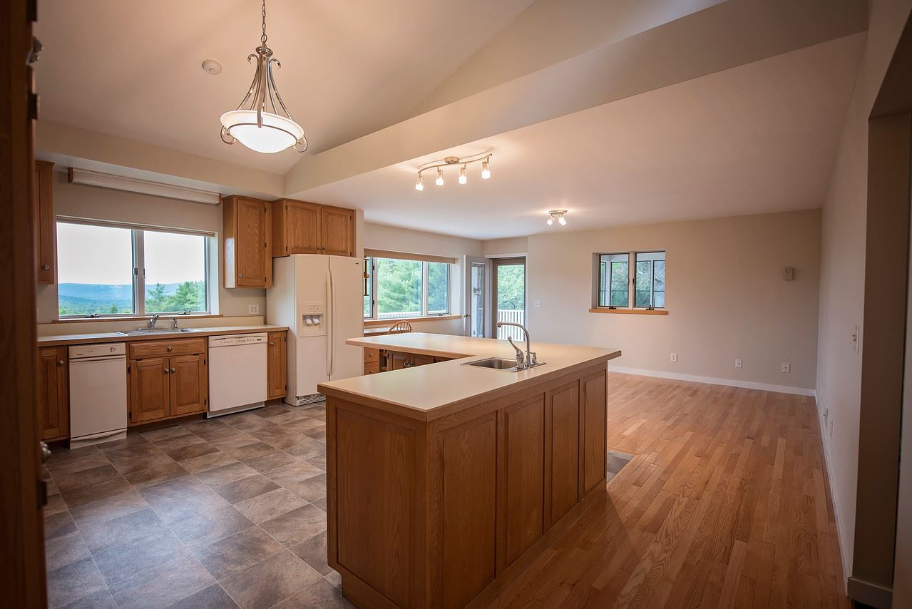 Large Country Kitchen with Views