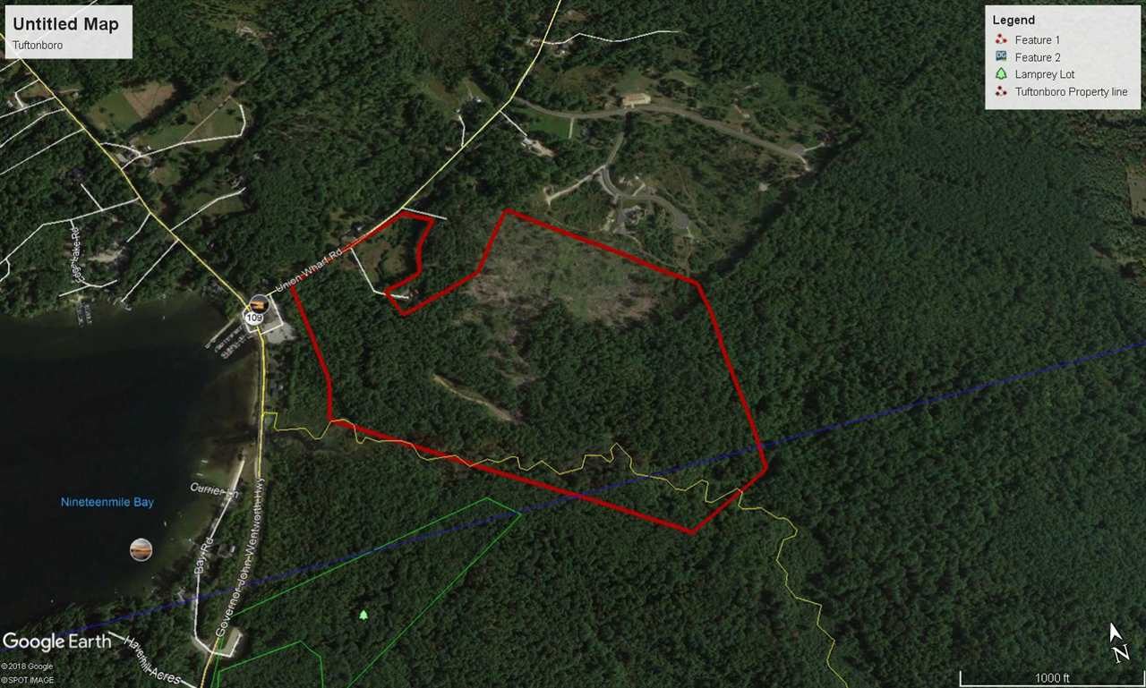 TUFTONBORO NH  LAND  for sale $665,000