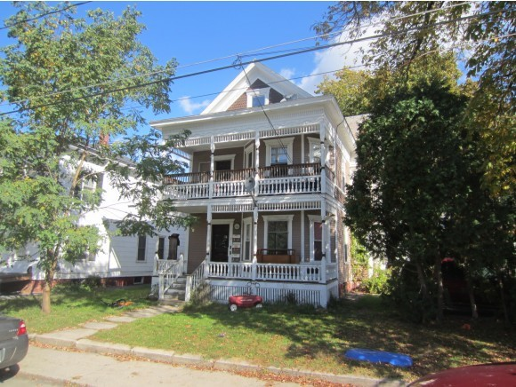 VILLAGE OF BELLOWS FALLS IN TOWN OF ROCKINGHAM VT Multi Family for sale $$225,000 | $60 per sq.ft.