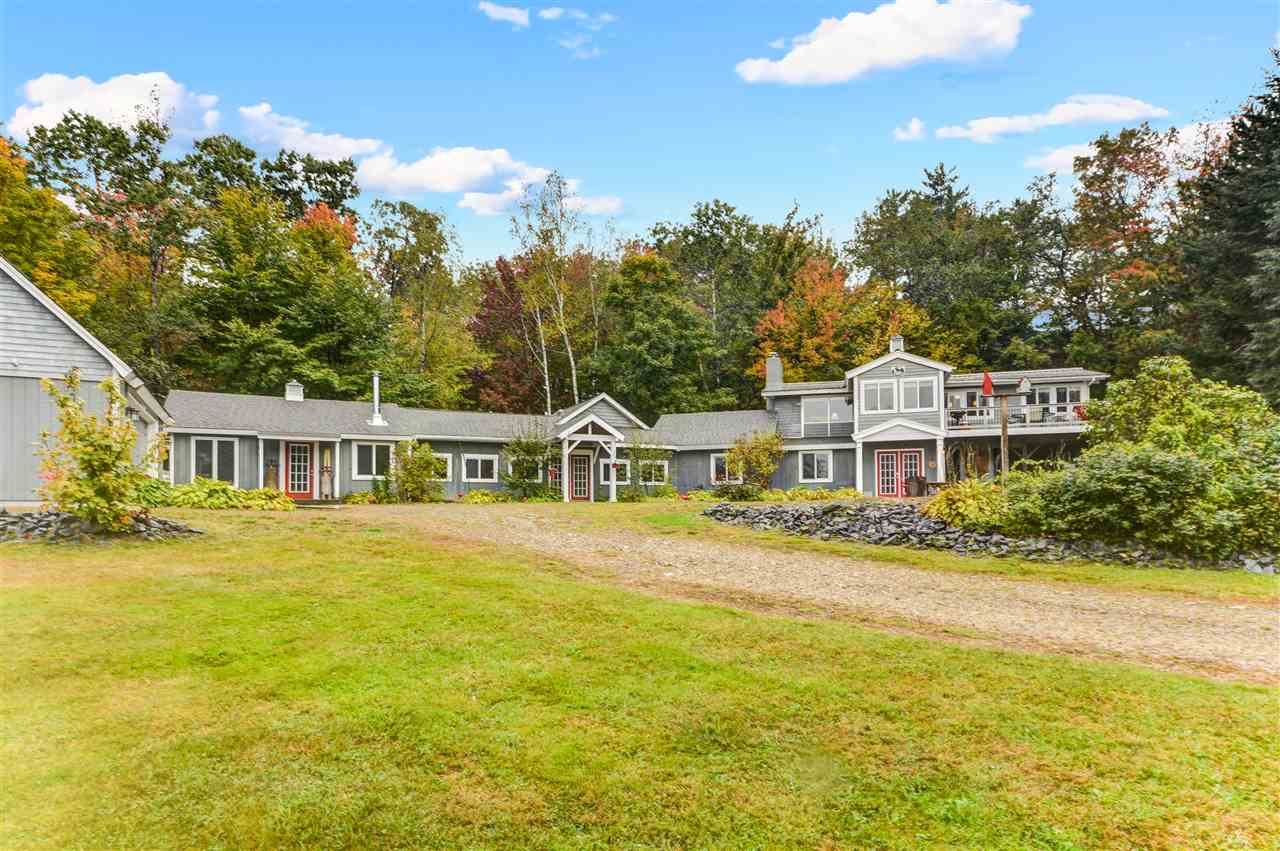 Campton NH  waterfront home for sale