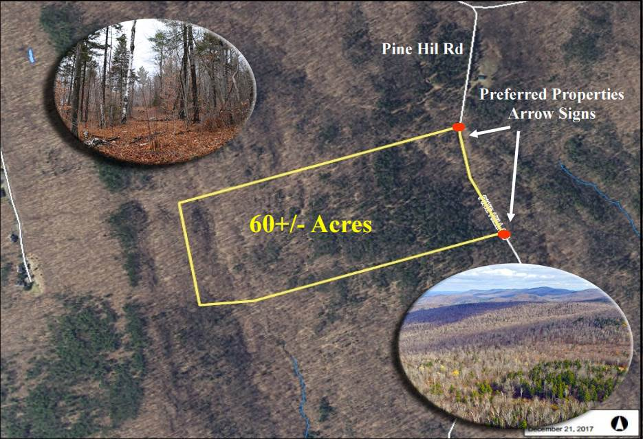 PLYMOUTH VTLAND  for sale $$59,000 | 60 Acres  | Price Per Acre $0
