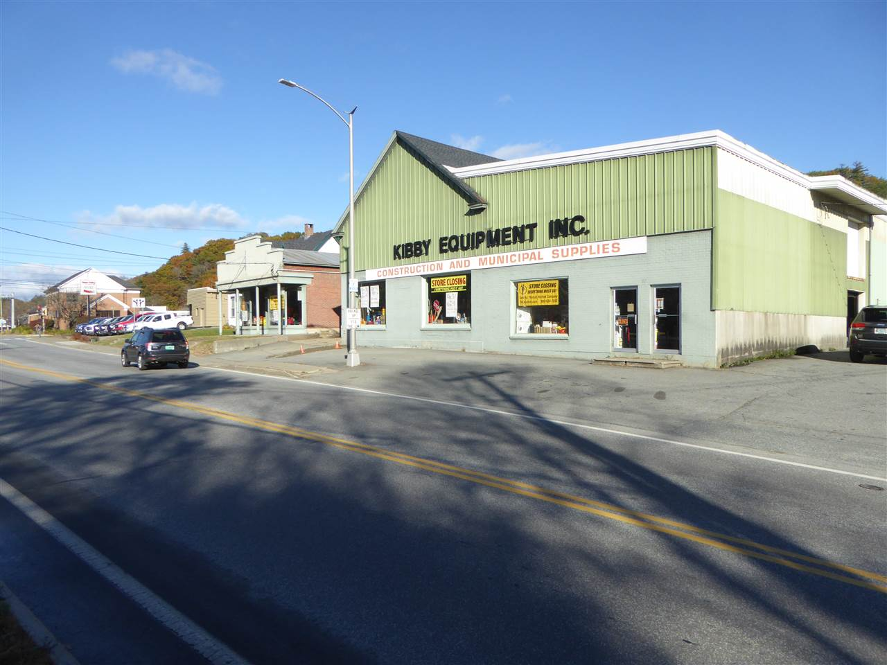 VILLAGE OF WHITE RIVER JUNCTION IN TOWN OF HARTFORD VT Commercial Property for sale $$750,000