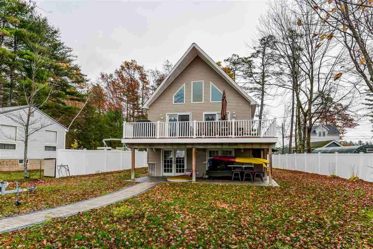 Belmont NH Lake Silver Lake waterfront home for sale