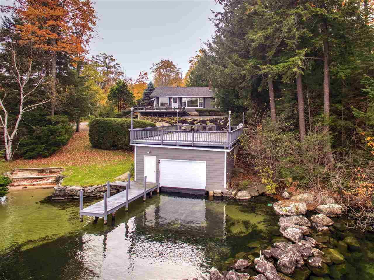 Alton NH Home mls no. 4666907 with 100 ft. owned waterfront