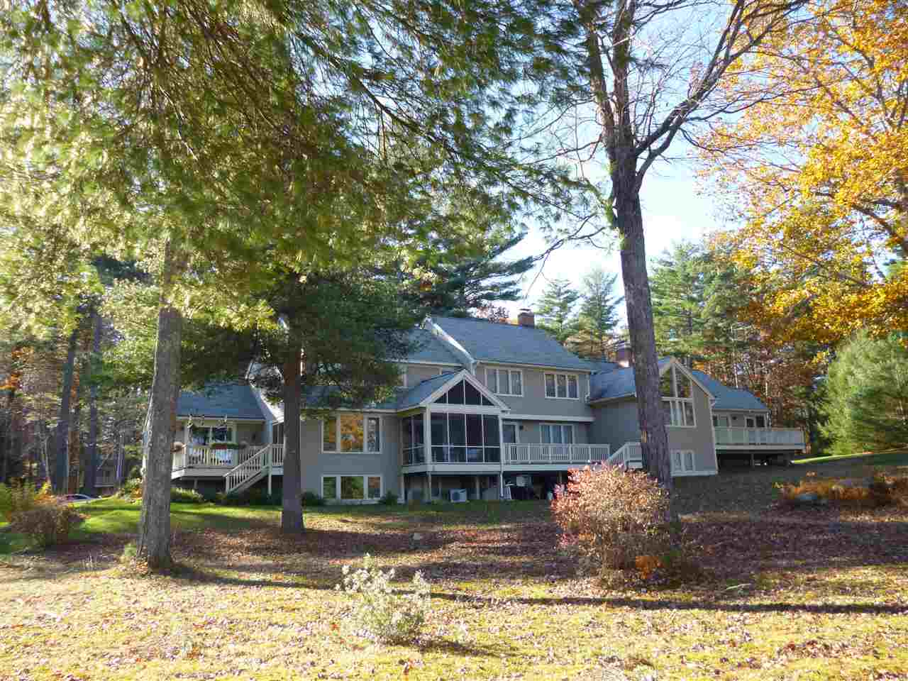 Wolfeboro NH Lake Wentworth waterfront home for sale