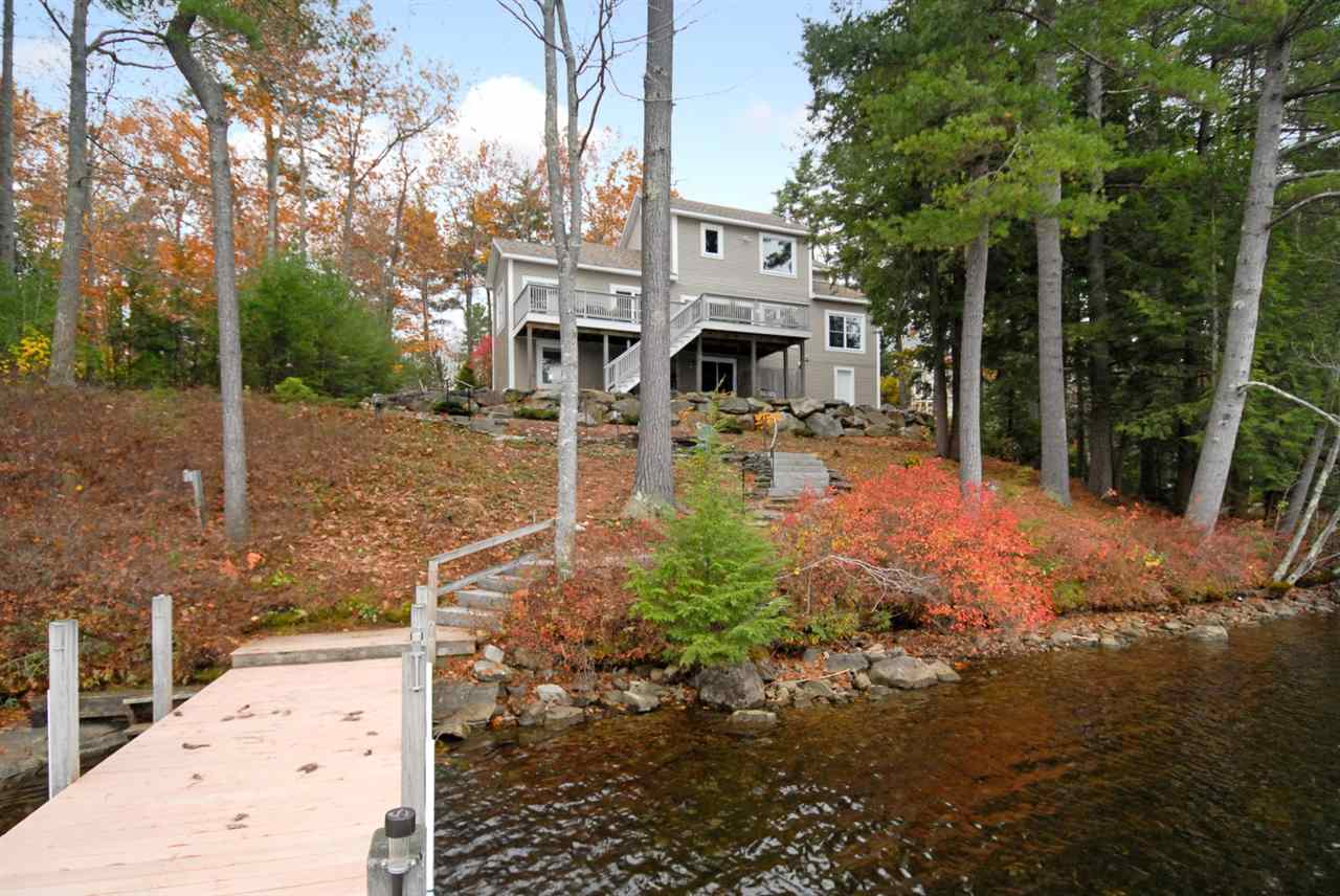 Lake Crescent waterfront home for sale in Wolfeboro