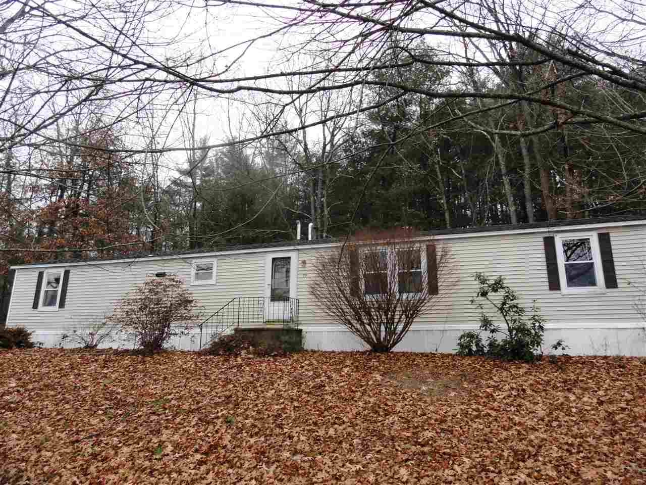 Milford NH Mobile-Manufacured Home for sale $List Price is $59,900