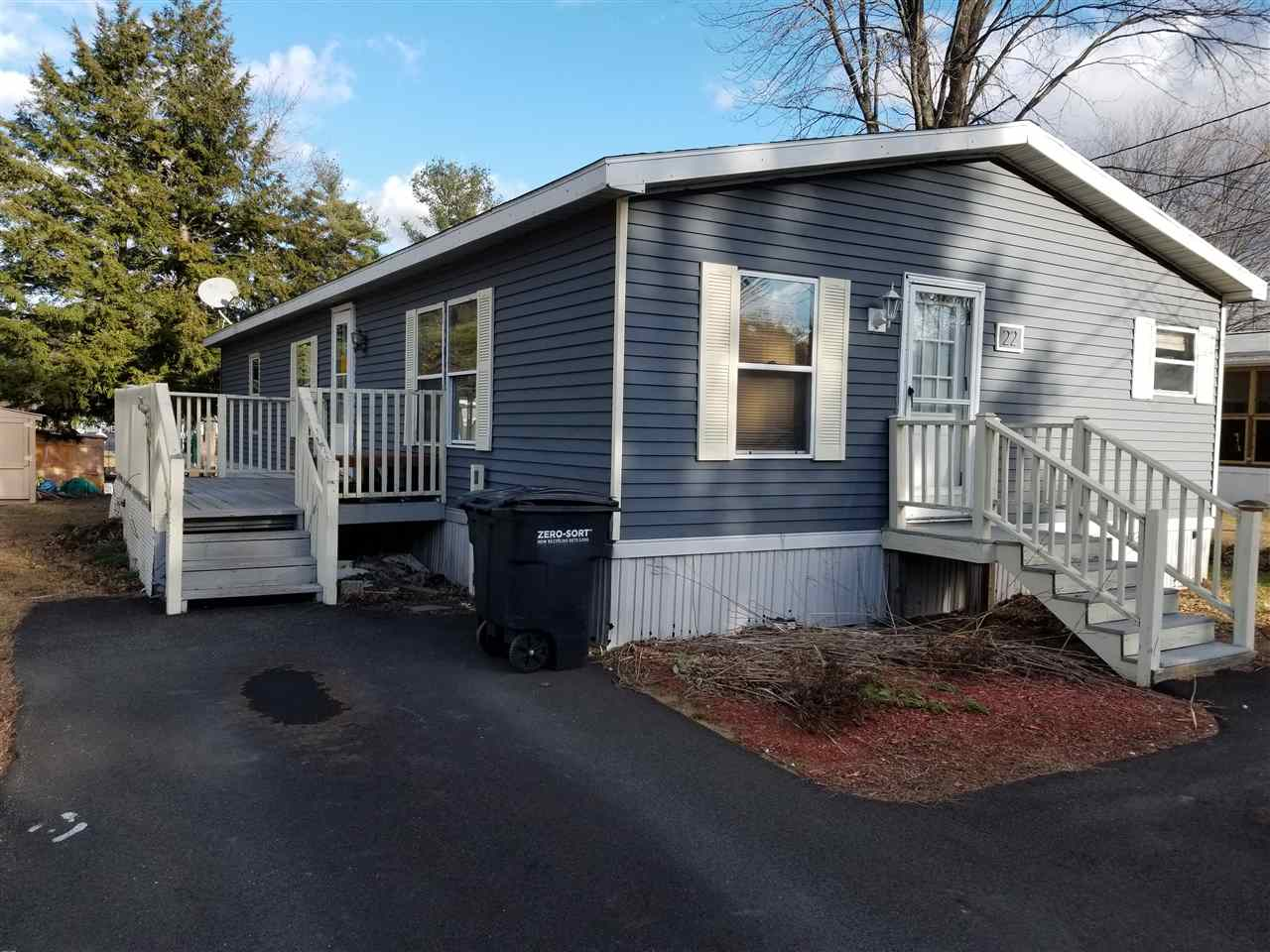 Allenstown NHMobile-Manufacured Home for sale $List Price is $54,000