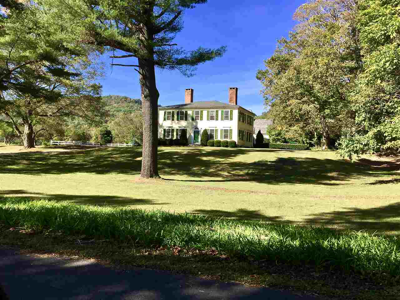 Springfield VT Horse Farm | Property  on Connecticut River