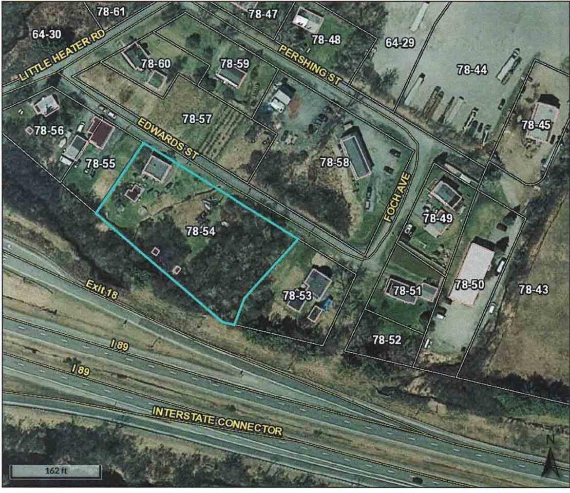 9 Edwards Property Line