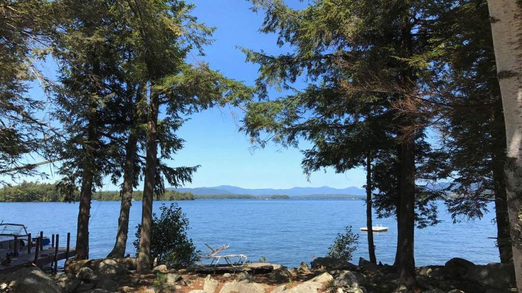 Lake Lake Winnipesaukee waterfront home for sale in Gilford